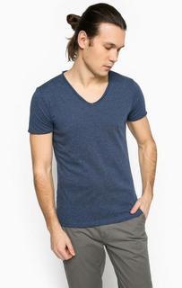Синяя футболка с короткими рукавами Mavi