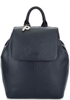 Рюкзак из натуральной кожи синего цвета Picard