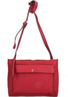 Красная сумка через плечо Fiorelli