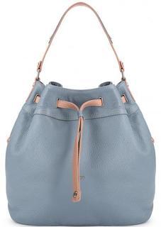 Кожаная сумка-рюкзак с одним отделом Bruno Rossi