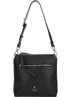 Черная сумка через плечо Fiorelli