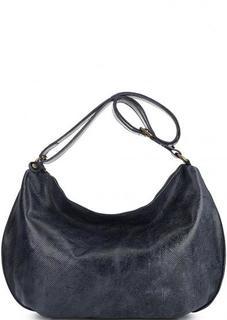Кожаная вместительная сумка через плечо Bruno Rossi