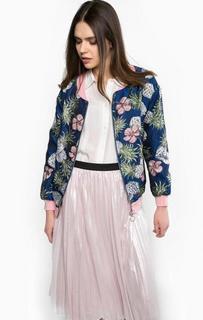 Разноцветная легкая куртка Pinko