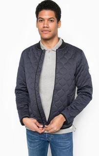 Легкая синяя куртка на молнии Tom Tailor Denim