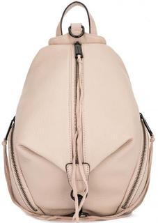 Кожаный рюкзак на молнии Rebecca Minkoff