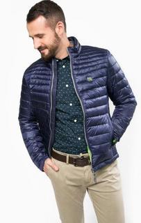 Демисезонная синяя куртка на молнии Tom Tailor