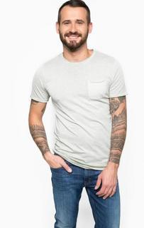 Хлопковая базовая футболка Jack & Jones