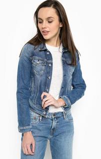 Укороченная джинсовая куртка Pepe Jeans