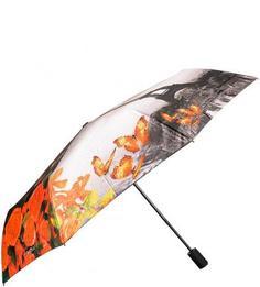 Складной зонт с ветростойким каркасом Flioraj