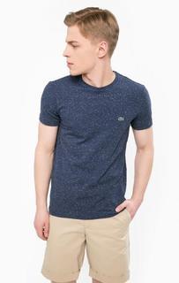 Хлопковая футболка с круглым вырезом Lacoste