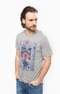 Серая футболка с круглым вырезом Jack & Jones