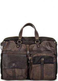 Вместительная сумка со съемным плечевым ремнем Campomaggi