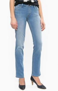 Синие джинсы прямого кроя Lee