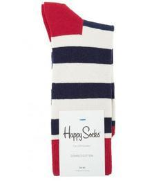 Хлопковые носки в полоску Happy Socks
