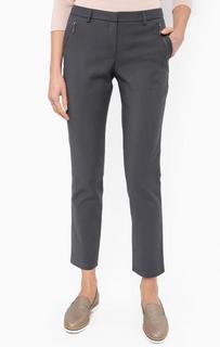 Серые зауженные брюки More & More
