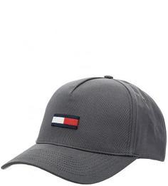Бейсболка из хлопка с логотипом бренда Hilfiger Denim