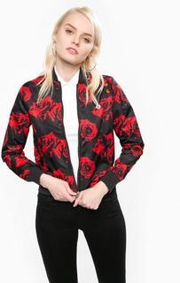 Куртка с цветочным принтом Fred Perry