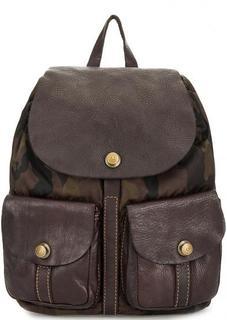 Текстильный рюкзак с одним отделом Campomaggi