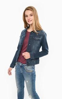 Джинсовая куртка с карманами Mavi