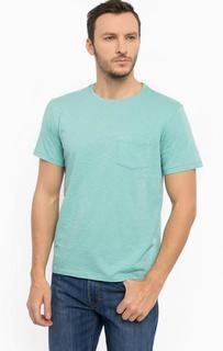 Бирюзовая футболка с карманом Lee