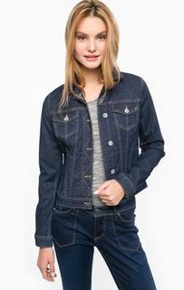 Синяя джинсовая куртка Mustang