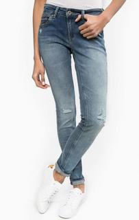 Синие рваные джинсы Hilfiger Denim