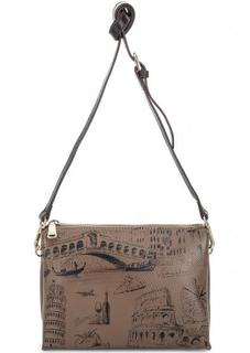 Маленькая кожаная сумка через плечо Fiato Dream