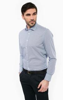 Приталенная рубашка из хлопка Marc Opolo