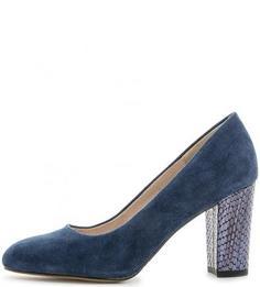 Замшевые туфли на устойчивом каблуке S.Oliver