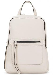 Кожаный рюкзак с одним отделом на молнии Gianni Chiarini