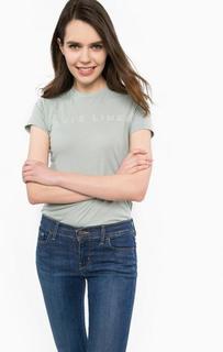 Однотонная футболка мятного цвета Levis®