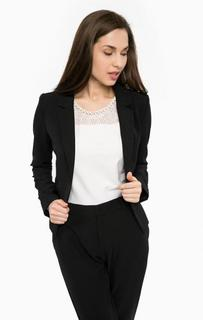 Черный пиджак с застежкой на пуговицу Gaudi