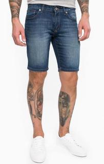 Джинсовые шорты с легкими заломами Hilfiger Denim