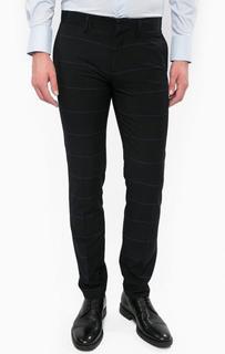 Хлопковые брюки в полоску Antony Morato