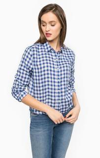 Рубашка из хзлопка прямого кроя Hilfiger Denim