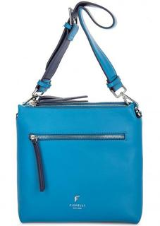 Маленькая синяя сумка через плечо Fiorelli