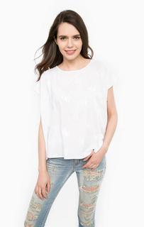 Хлопковая футболка с принтом MET