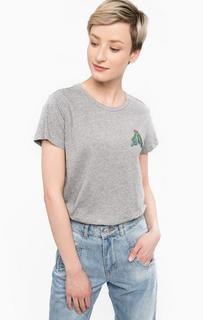Хлопковая футболка с короткими рукавами Scotch&Soda