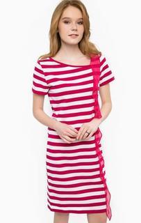 Платье-футболка из хлопка с воланом Liu Jo