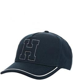 Синяя бейсболка из хлопка Tommy Hilfiger
