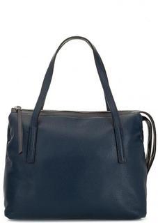 Кожаная сумка с двумя отделами на молнии Gianni Chiarini