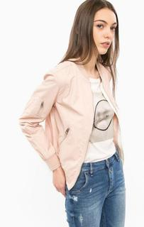 Розовая куртка на молнии Marc Opolo