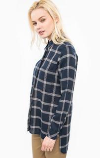 Рубашка из хлопка в клетку с карманами Barbour