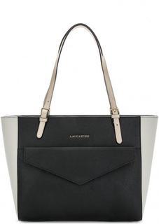 Вместительная сумка из сафьяновой кожи Lancaster