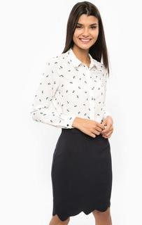 Трикотажная блуза с контрастным принтом Sugarhill Boutique