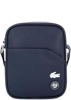 Маленькая сумка с широким плечевым ремнем Lacoste