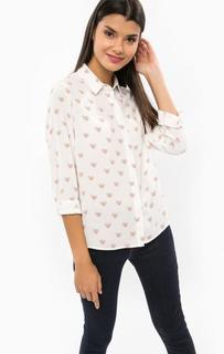 Трикотажная блуза на пуговицах Sugarhill Boutique