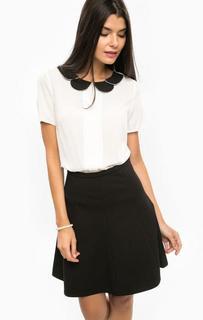 Блуза с короткими рукавами из вискозы Sugarhill Boutique