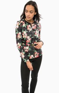 Легкая куртка-трансформер с цветочным принтом Guess