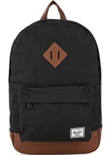 Черный текстильный рюкзак Herschel